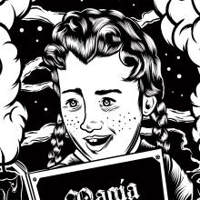Barbatos FX ( tercer aniversario ). Um projeto de Ilustração, Artesanato, Design gráfico e Serigrafia de Hugo Sánchez Ochoa - 13.10.2015