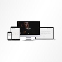 Javier Riba. Um projeto de Br, ing e Identidade, Direção de arte e Design interativo de Pedro López - 19.09.2014