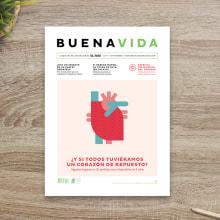 BuenaVida magazine Look & Feel . Um projeto de Design editorial, Design gráfico e Design de informação de relajaelcoco - 31.08.2015