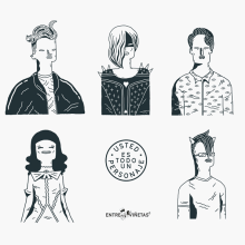 Usted es todo un personaje. A Character Design & Illustration project by Ana Galvañ - 10.20.2015