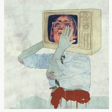 Historia de la televisión según Buenafuente y el terrat. Un proyecto de Ilustración de marta zafra - 10.10.2010