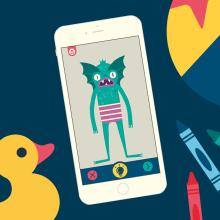 Imaginary Monsters App. Um projeto de Ilustração, Animação e Direção de arte de Facundo Samman - 21.10.2015