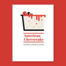 Dessert Icons. A Design, Kunstleitung, Grafikdesign und Informationsdesign project by Maria Suarez-Inclan - 26.10.2015