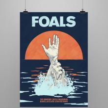 FOALS What Went Down. Mi Proyecto del curso Ilustración para music lovers. Um projeto de Design gráfico de Noir Design - 29.10.2015