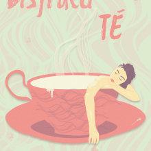 Mi proyecto - Disfruta-Té Hornimans. Un proyecto de Ilustración de Beatriz Rubio Fernández - 31.10.2015