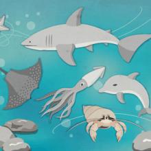 Ilustración | Bajo el mar. Um projeto de Ilustração de Ale Frances - 01.11.2015