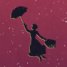 Mary Poppins. A Design & Illustration project by Jaime Posadas Fernández - 11.15.2015