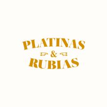 ━ PLATINAS & RUBIAS. Um projeto de Ilustração, Direção de arte e Design de informação de Núria López - 16.11.2015