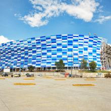 Estadio Cuauhtemoc. Um projeto de Arquitetura de Dünn Lightweight Architecture - 20.11.2015
