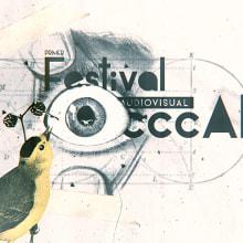 Festival Audiovisual CC Cali 2015. Um projeto de Design, Animação, Br e ing e Identidade de Cuántika Studio - 18.10.2015
