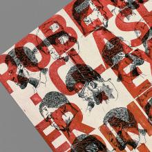 Robert Glasper  Poster - Letterpress. Un proyecto de Ilustración, Br, ing e Identidad, Artesanía, Diseño editorial, Diseño gráfico, Pintura y Tipografía de Manel Portomeñe Marqués - 09.12.2015