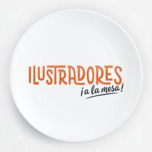 Ilustradores, ¡a la mesa!. Um projeto de Design, Ilustração, Direção de arte, Design editorial, Culinária e Design gráfico de Pablo Fernández Tejón - 14.12.2015