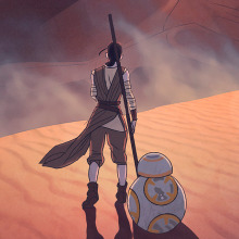 Star Wars: the force awakens . A Illustration, Film, Video, TV, and Film project by Jaime Posadas Fernández - 12.20.2015