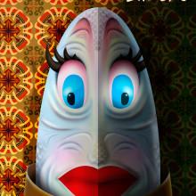 Carnaval Laredo 2016: ¿Sardina o anchoa?. Un proyecto de Diseño, Ilustración y Diseño gráfico de Alejandro Mazuelas Kamiruaga - 11.01.2016