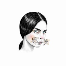 Rostros (Bocetos). Un proyecto de Ilustración y Pintura de William Ibañez Ararat - 17.01.2016