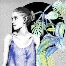 Black. Un proyecto de Ilustración, Publicidad, Dirección de arte, Moda, Bellas Artes y Diseño gráfico de Lucía Paniagua - 20.01.2016