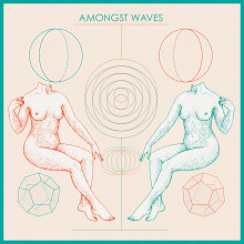 Amongst Waves Cover. A Design & Illustration project by Dani Cambeiro - 08.27.2015