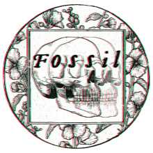 Fossil Logo. A Design, Illustration, Br, ing & Identit project by Dani Cambeiro - 06.15.2015