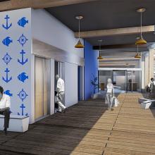 PFC - Llegar a buen puerto - Edificio multifuncional en el puerto de Barcelona. Un proyecto de 3D y Arquitectura de Germán Valle - 22.07.2015