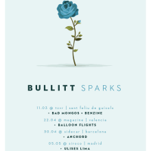 Cartel BULLITT comeback tour. Um projeto de Design gráfico e Ilustração de Xavier Calvet Sabala - 08.02.2016