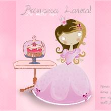Tarjeta de cumpleaños para una princesita. Um projeto de Design de Patricia PHP - 16.02.2016