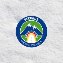 Logotipo para Proyecto SECURUS. POCTEFA 2014 - 2020. Um projeto de Br, ing e Identidade e Design gráfico de Sara Palacino Suelves - 17.02.2016