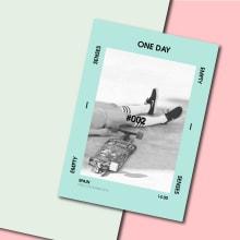 ONE DAY #002. Un proyecto de Diseño, Fotografía, Diseño editorial y Diseño gráfico de VONDEE - 17.02.2016