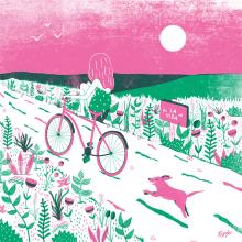 """Ilustración inspirada en la canción """"Mutt"""" de Ben Harper. Un proyecto de Diseño e Ilustración de Tània García Jiménez - 23.02.2016"""