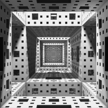 Axioma // A Stereoscopic Projection Mapping. Un proyecto de 3D de Dominic Plaza - 02.03.2016