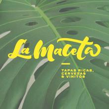 La Maceta - Branding. Un proyecto de Diseño, Br, ing e Identidad, Diseño gráfico, Caligrafía y Lettering de Sara Moreno - 04.03.2016