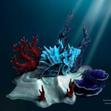 Caseta bajo el mar. A 3D, and Game Design project by Parodi Paradise - 01.31.2015