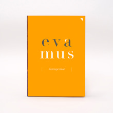 Eva Mus. Retrospectiva. Un proyecto de Diseño, Diseño editorial, Diseño gráfico y Pintura de el bandolero Lacabra - 10.03.2016