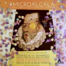 #Microcervantes exposición. Un proyecto de Diseño, Ilustración, Diseño gráfico y Arte urbano de Pedro González López - 18.03.2016