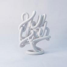 Hell Yeah sculpture. Um projeto de Ilustração, 3D, Artes plásticas, Design de produtos, Escultura e Tipografia de Marc Urtasun - 19.03.2016