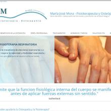 Diseño gráfico y diseño web para Osteopatía MJM. Un proyecto de Br, ing e Identidad, Diseño gráfico, Marketing, Diseño Web y Desarrollo Web de Rafael J. Mora Aguilar - 22.03.2016