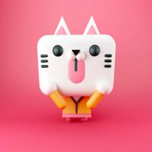 Pip the Cat. Un proyecto de 3D y Diseño de personajes de Eduardo Fajardo - 22.03.2016