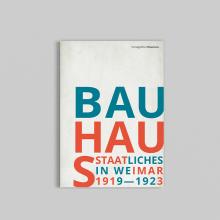 Monográfico Bauhaus. Un proyecto de Diseño editorial y Diseño gráfico de Pablo Cinto - 29.03.2016