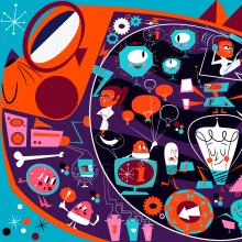 ZOOPPA MURAL. Un progetto di Interior Design, Character Design e Illustrazione di Jhonny Núñez - 31.03.2016