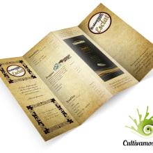 Carta Restaurante Esclat. Um projeto de Design gráfico de Patricia PHP - 09.03.2016