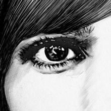 Maribel Verdú / Contrapunto BBDO-Mercedes Benz. Un proyecto de Ilustración, Publicidad, Bellas Artes y Diseño gráfico de Lucía Paniagua - 11.04.2016
