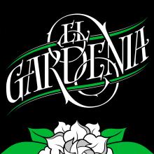 El Gardenia | Identidad & etiqueta. Un proyecto de Br, ing e Identidad y Caligrafía de GM Meave - 18.04.2016