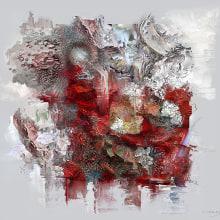 """Fractura canicular - 2016. Un proyecto de Bellas Artes, Diseño gráfico y Pintura de Chicote CFC - """"Simbiosismo / Symbiotic Art - 18.04.2016"""