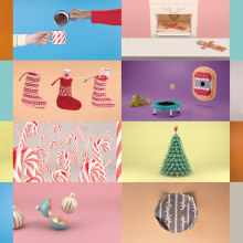 A3 Media Christmas 2012. A Motion Graphics, 3-D, Animation, Kunstleitung, TV und Stop Motion project by Fabio Medrano - 15.12.2013