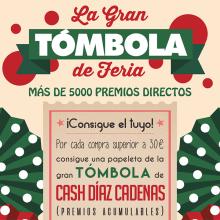 Cartel La Gran Tómbola de Feria para Díaz Cadena Cash & Carry. Un proyecto de Diseño gráfico y Publicidad de Pablo Muñoz Gonzalez - 27.04.2016