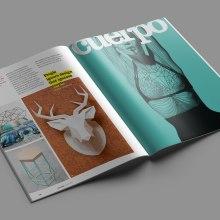 Poliqon Magazine. Um projeto de Direção de arte, Design editorial e Design gráfico de Xana Morales - 15.06.2015