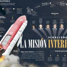 La misión interrumpida . Um projeto de Ilustração, Informática, Design editorial, Design gráfico, Design de informação e Infografia de Diana Estefanía Rubio - 08.05.2016