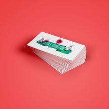 Identidad La Lola Connection. Un progetto di Design, Illustrazione, Br, ing e identità di marca , e Calligrafia di Víctor Montes - 11.05.2016