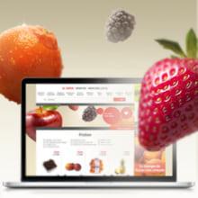 Diseño de fondos y secciones para Eroski - la tienda online. Un proyecto de Diseño gráfico y Diseño Web de lucia verdejo - 14.07.2012