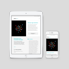 Web Silvia Leal. Um projeto de Br, ing e Identidade e Web design de Xana Morales - 14.09.2015