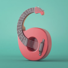 Números | 36 Days of Type 03. Um projeto de Design, Ilustração, 3D, Direção de arte e Tipografia de Camilo Belmonte - 23.05.2016
